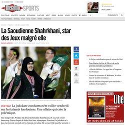 La Saoudienne Shahrkhani, star des Jeux malgré elle