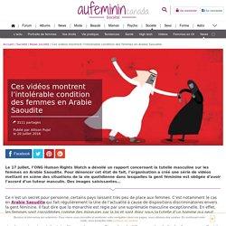 Arabie Saoudite : L'intolérable condition des femmes en vidéos animées