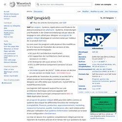 SAP (progiciel)