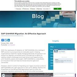 SAP S/4HANA Migration Approach