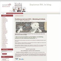 Sapiance RH, le blog