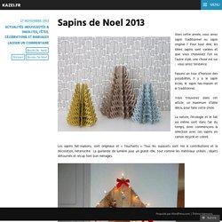 Sapins de Noel 2013