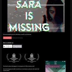 Sara is Missing by saraismissing
