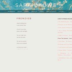 Sarah Howe - Poems