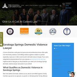 Saratoga Springs Domestic Violence Lawyer