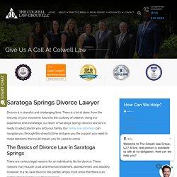 Saratoga Springs Divorce Lawyer