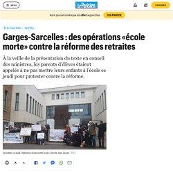 Garges-Sarcelles : des opérations «école morte» contre la réforme des retraites