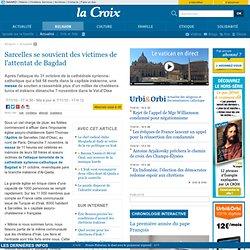 Sarcelles se souvient des victimes de l'attentat de Bagdad - Religion - la-Croix.com