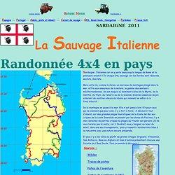 Rando 4x4 Sardaigne-Road-book, GPS & Navigation, traces et waypoints