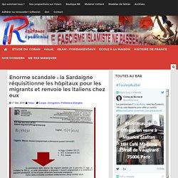 Enorme scandale : la Sardaigne réquisitionne les hôpitaux pour les migrants et renvoie les Italiens chez eux