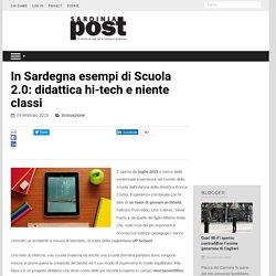 In Sardegna esempi di Scuola 2.0: didattica hi-tech e niente classi