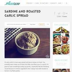 Sardine and Roasted Garlic Spread