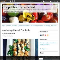 sardines grillées à l'huile de soubressade