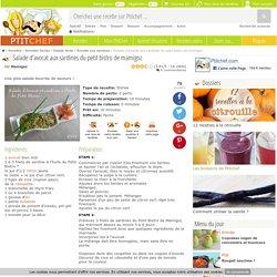 Salade d'avocat aux sardines du petit bistro de mamigoz, Recette Ptitchef