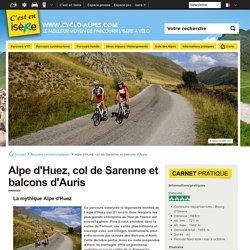 Alpe d'Huez, col de Sarenne et balcons d'Auris