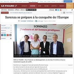 Sarenza se prépare à la conquête de l'Europe