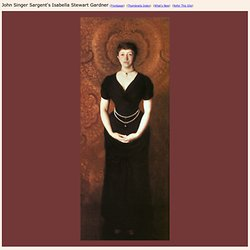 John Singer Sargent's Isabella Stewart Gardner
