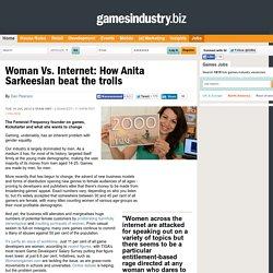 Woman Vs. Internet: How Anita Sarkeesian beat the trolls