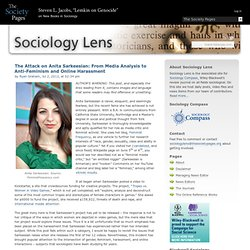 The Attack on Anita Sarkeesian: From Media Analysis to Anti-Feminism and Online Harassment » Sociology Lens