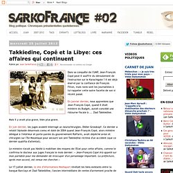 Takkiedine Copé & la LIBYE