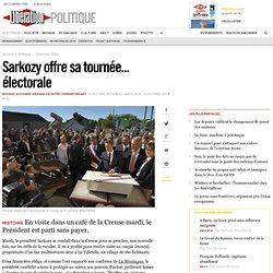 Sarkozy offre sa tournée... électorale