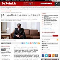 Dette : quand Sarkozy faisait pire que Mitterrand !
