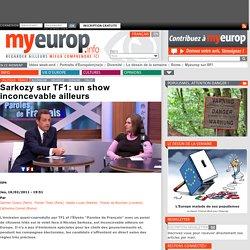 Sarkozy sur TF1: un show inconcevable ailleurs