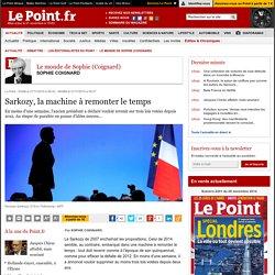 Sarkozy, la machine à remonter le temps