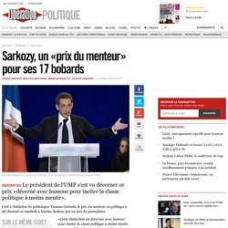 Sarkozy, un «prix du menteur» pour ses 17 bobards
