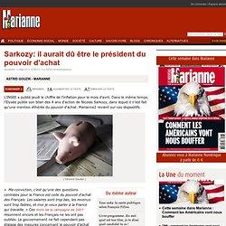 Sarkozy: il aurait dû être le président du pouvoir d'achat