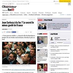 Jean Sarkozy à la fac? Le secret le mieux gardé de France