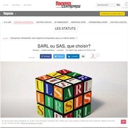 SARL ou SAS, que choisir?