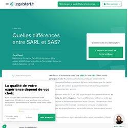 SARL ou SAS, les différences