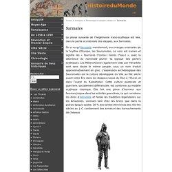 Sarmates - Histoire du Monde