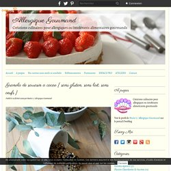 Granola de sarrasin a cacao { sans gluten, sans lait, sans oeufs } - Allergique Gourmand