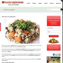 Sarrasin aux légumes ~ carottes, blettes