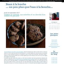 Cookies au sarrasin, aux noisettes et au chocolat (Les cookies du placard)