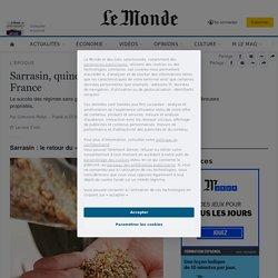 Sarrasin, quinoa et lupin s'implantent en France
