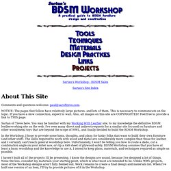 Sartan's BDSM Workshop