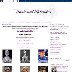 The Royal Order of Sartorial Splendor: Jewel Central