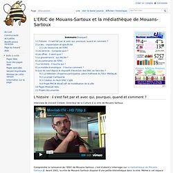 L'ERIC de Mouans-Sartoux et la médiathèque de Mouans-Sartoux