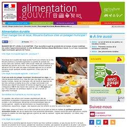 Pour manger bio et local, Mouans-Sartoux crée un potager municipal !