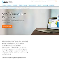 Curriculum Pathways®