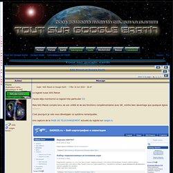 SAS Planet et Google Earth