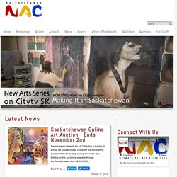 Saskatchewan Network for Art Collecting