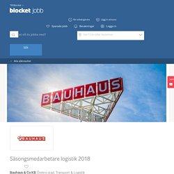 Säsongsmedarbetare logistik 2018 - Örebro stad - Bauhaus & Co KB - Blocket Jobb