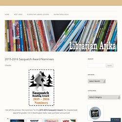 2015-2016 Sasquatch Award Nominees