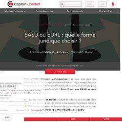 SASU ou EURL : comment choisir sa société ?