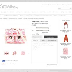 Bakker made with love Jouy Satchel Fluorescent pink - Kids fashion - Smallable