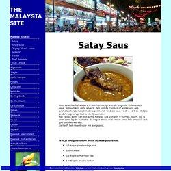 Sat saus (Maleis Recept)